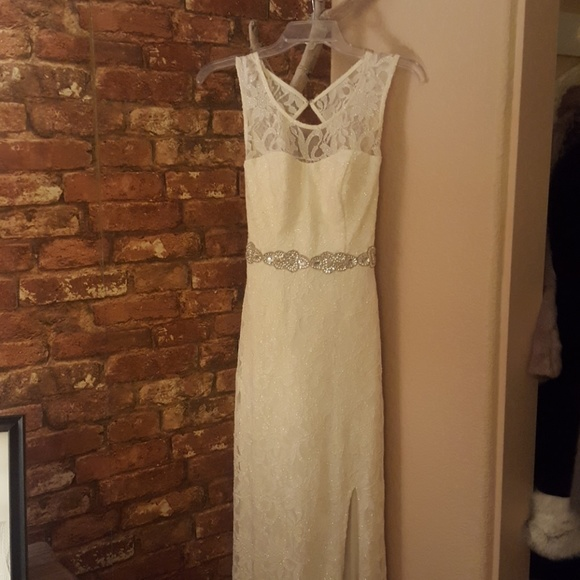 City Triangles Dresses Formal Ivory Dress Poshmark